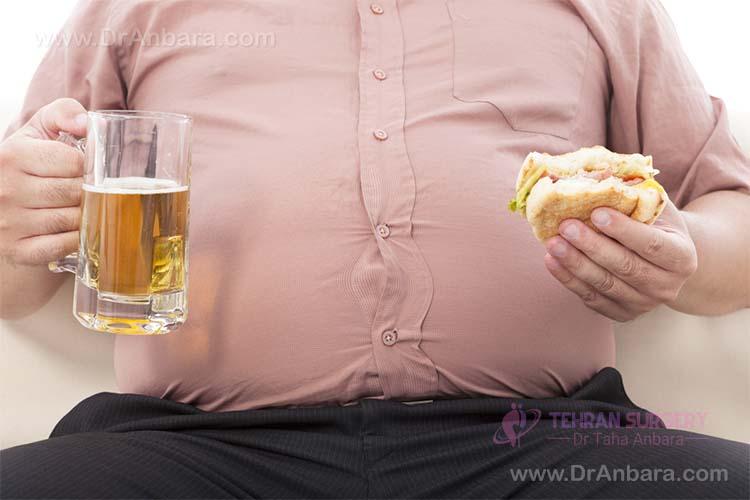 درمان چاقی مفرط با جراحی لاپاراسکوپی