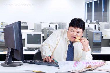 چاقی ناشی از اضطراب