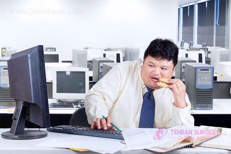 چاقی ناشی از اضطراب – آیا اضطراب باعث چاقی می شود؟