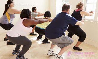 نوع چاقی و ورزش مرتبط با آن