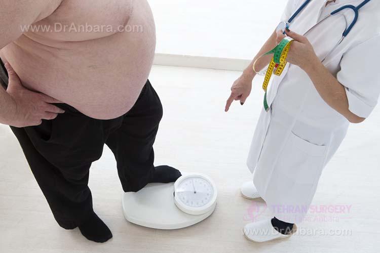 بیماری های ناشی از اضافه وزن