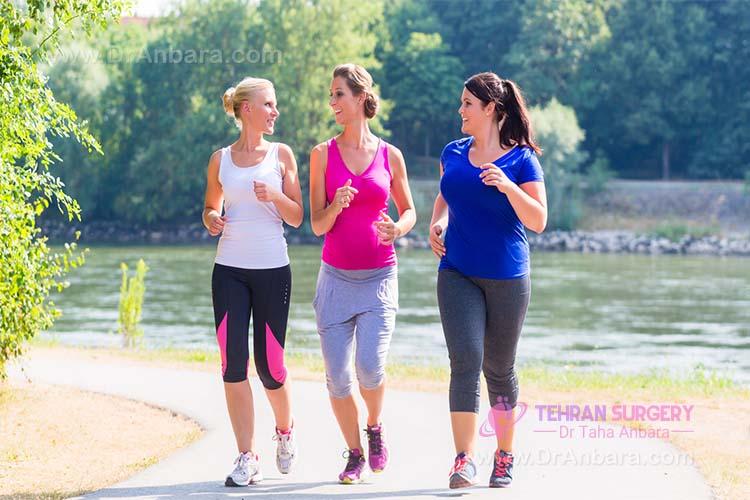 ورزش و فعالیت جسمانی بعد از جراحی لاغری