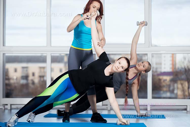 رژیم لاغری با ورزش