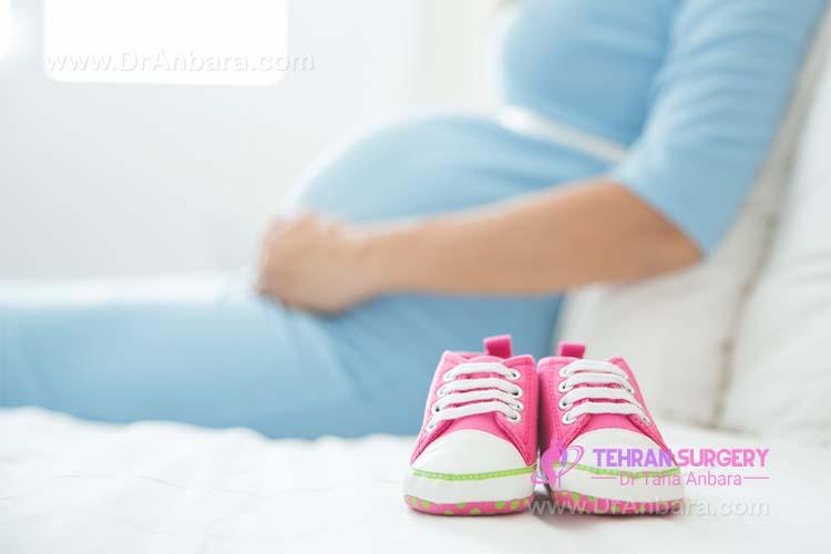 پروتز سینه و بارداری