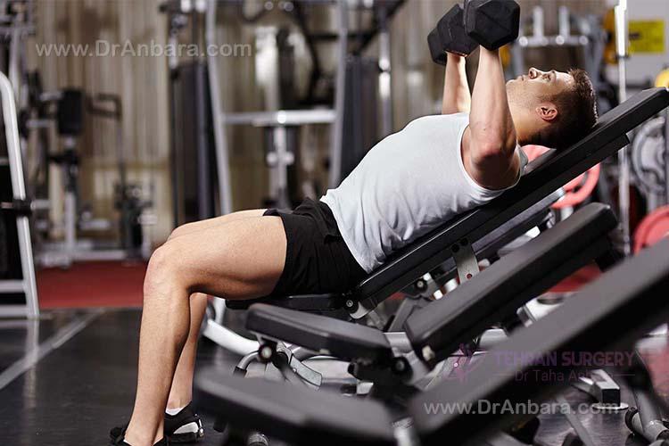 ورزش براي جبران چاقي
