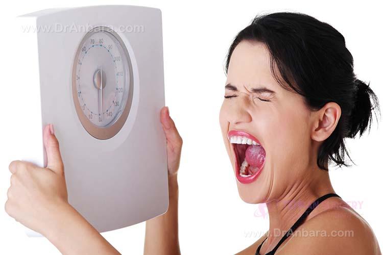 دلایل عدم کاهش وزن چیست؟