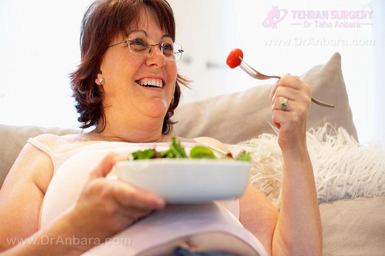 تغییرات روحی مثبت در یک خانم بعد از جراحی لاغری