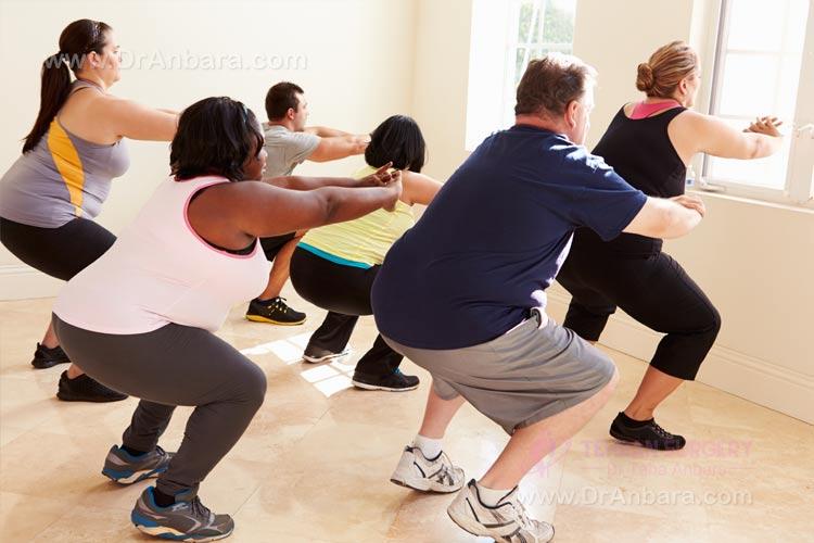 ورزش قبل از جراحی لاغری