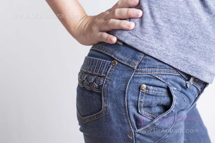 کمر درد از چاقی