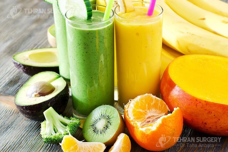 Pre-op weight loss surgery liquid diet
