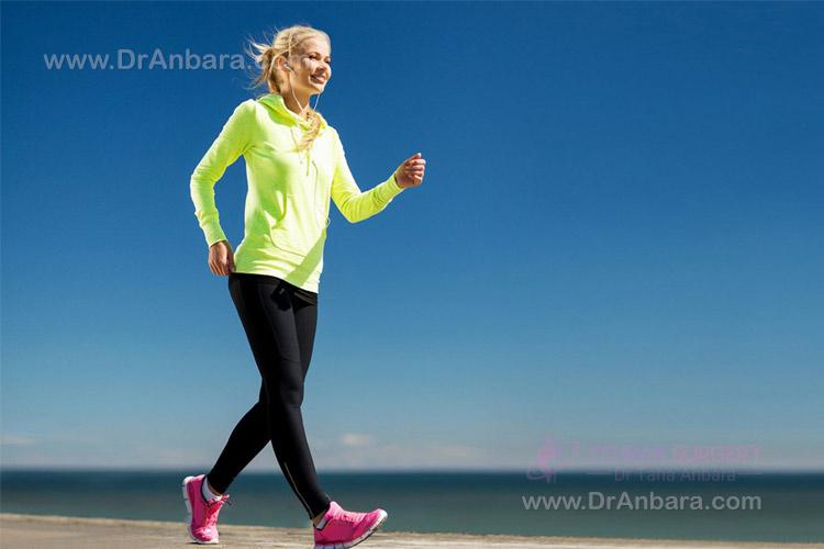 ورزش بعد از جراحی لاغری