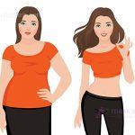 کاهش وزن پس از جراحی لاغری
