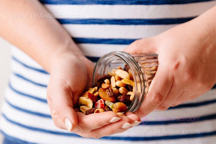 رژیم غذایی بعد عمل لاغری
