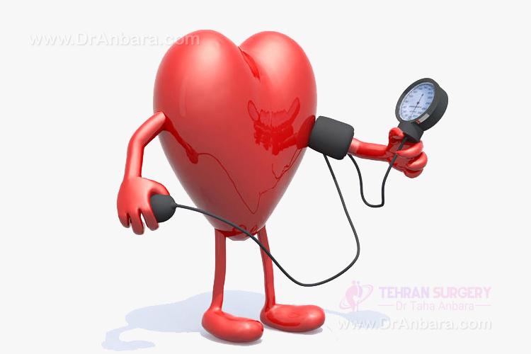 عمل لاغری و فشار خون