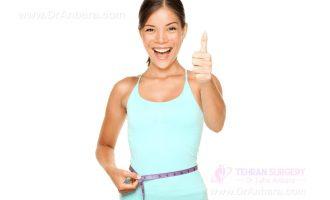 کاهش وزن مطلوب