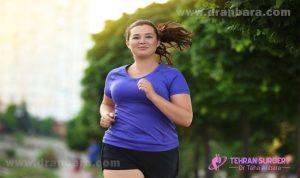 ورزش کردن و لاغری