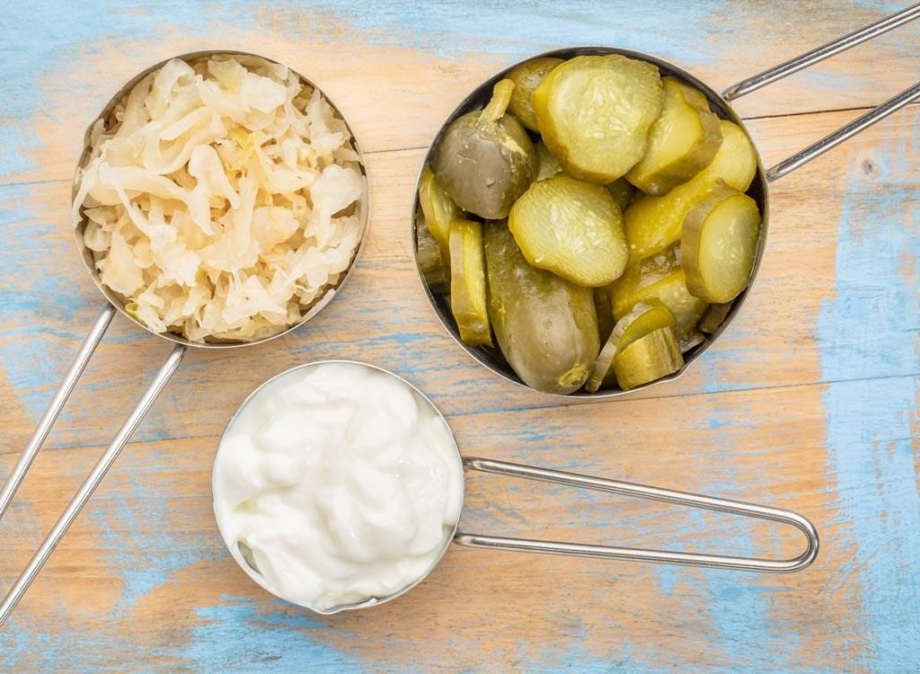 تنظیم وزن با خوردن غذاهای پروبیوتیک