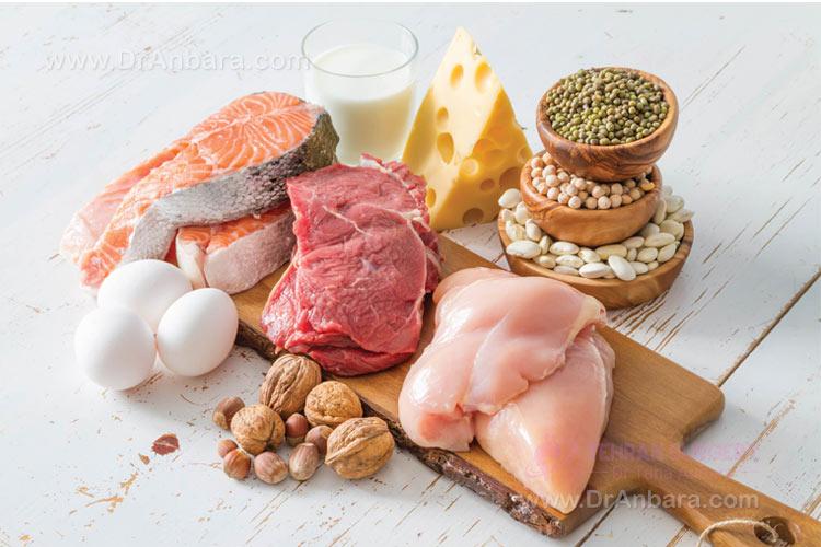 هذا الطعام مملوء بل بروتئین